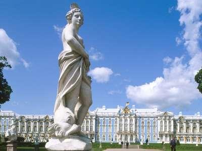 Catherine Palace Pushkin St. Petersburg Russia