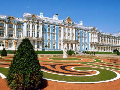 Catherine Palace St. Petersburg. Russia
