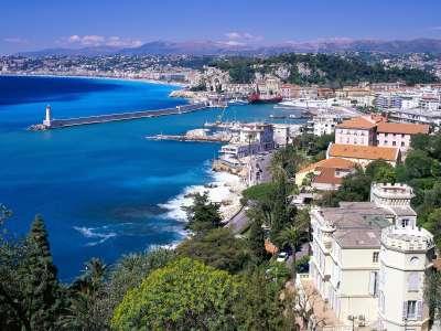 Coastal View Nice France