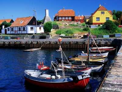 Gudhjem Bornholm Denmark