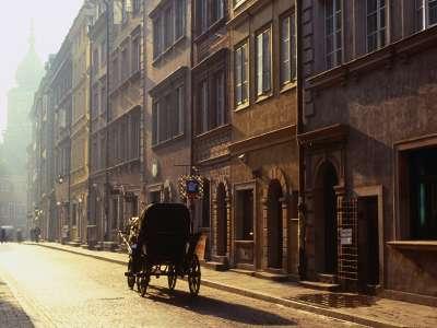 Old Town Warsaw Mazowieckie Poland