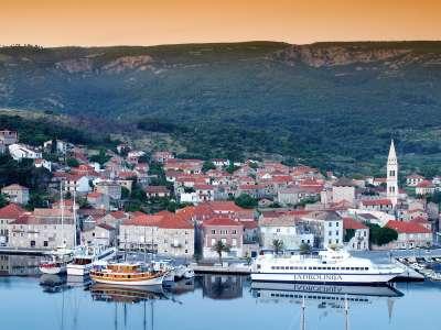 Port Of Jelsa Hvar Island Croatia