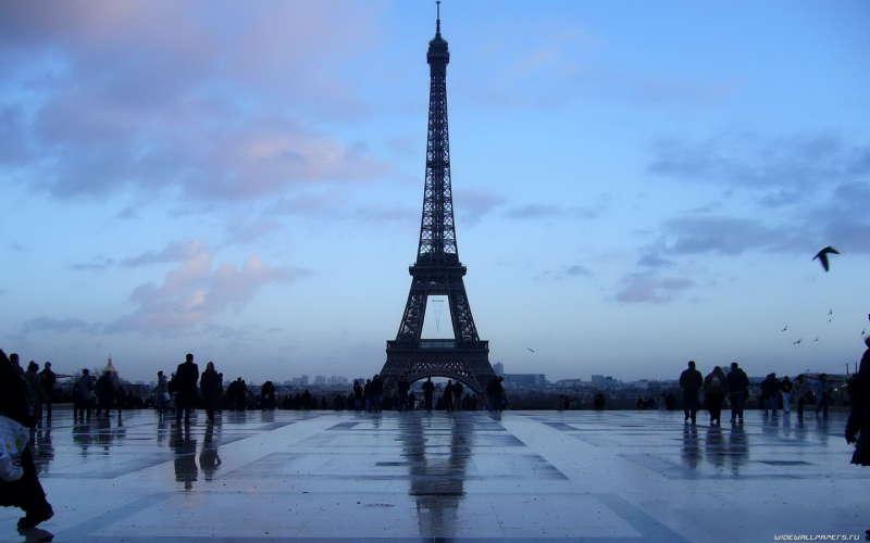 Eifell Tower in Paris, France