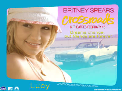 Britney Spears in Movie Crossroads