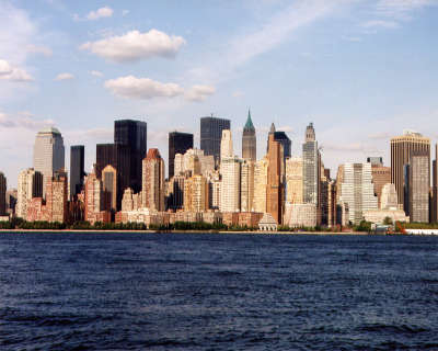 New York from sea