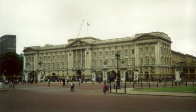 London Buckingham Palace 1