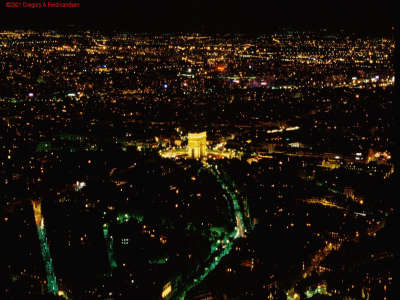 Paris At Night, From Eiffel Tower (2)