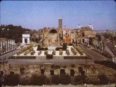 Temple Of Venus On Rome Designed For Hadrian