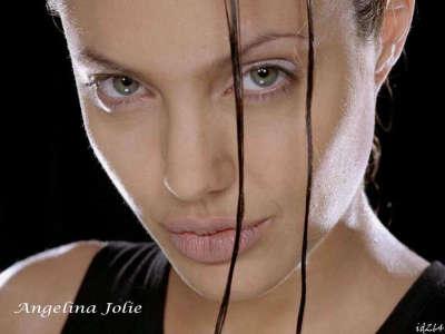 Angelina Joile as Lara Croft