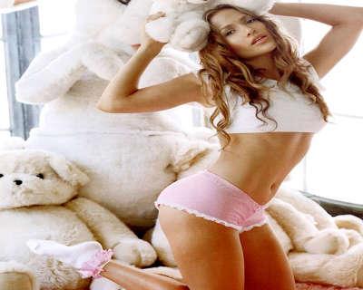 Jennifer Lopez in underwear