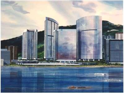 Hongkongofficewatercolorsc