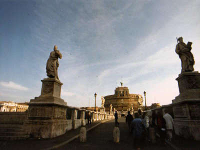 Rome 5 Sided Castle Near Vatican