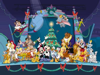 Disneys Cartoons - Christmas