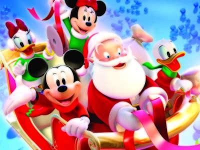Disney Christmas with Santa