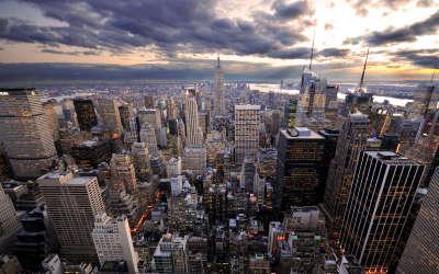 Manhattan at Evening