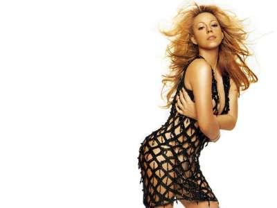 Mariah Carey in sexy dress
