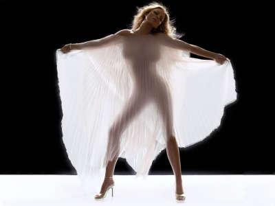 Mariah Carey in white