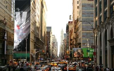 New York City - Manhattan Traffic Jam