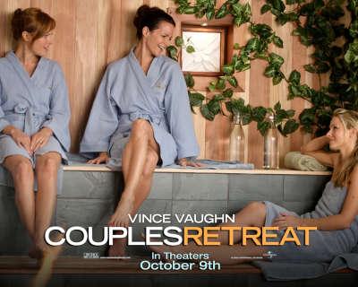 Couple Retreats in sauna