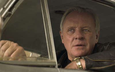 Anthony Hopkins In Car