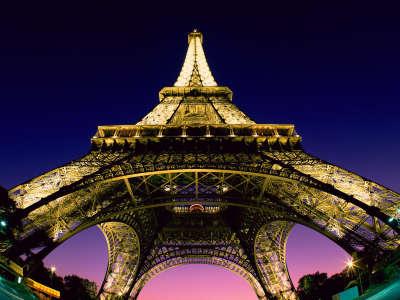 Eiffel Tower in Paris - France