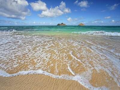 Lanikai Shoreline Oahu Hawaii