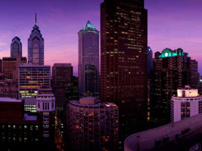 Philadelphia Pennsylvania Dawn