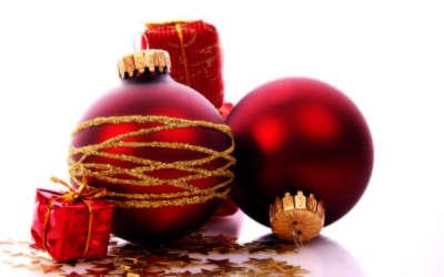 Red Christmas Ball Xmas
