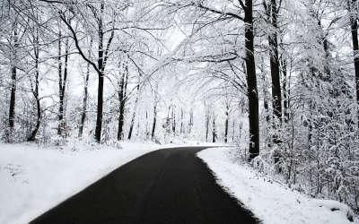 Road Winter Snow