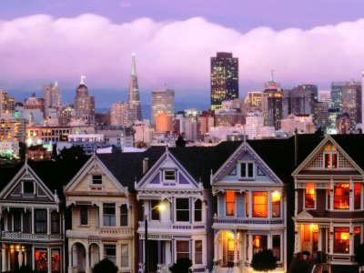 San Francisco At Dusk California