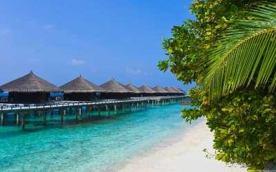 Sand Beach With Resort