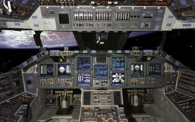 Space Shuttle Interior