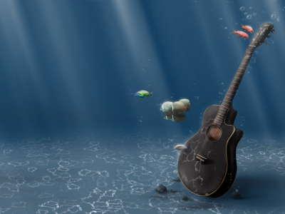 Underwater Guitar