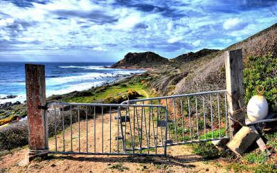 Fence Near Beach
