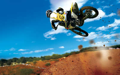 Motocross In The Air