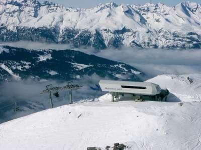 Ski Resort In Lenzerheide Switzerland