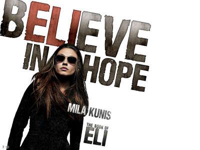 Mila Kunis in The Book Of Eli