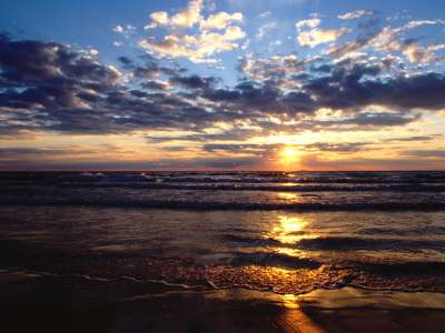 Evening Glory Lake Michigan