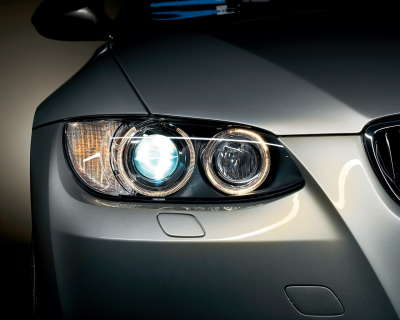 Bmw 5 Lights Closeup
