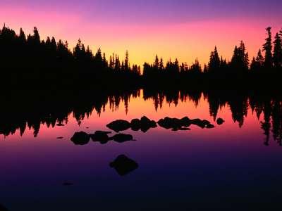 Lake Russell Oregon Cascades