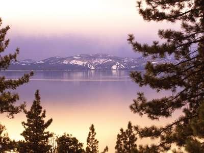 Lake Tahoe At Twilight Nevada