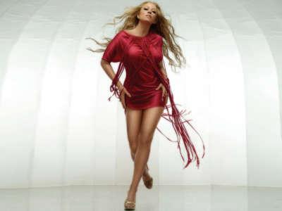 Mariah Carey In Dress