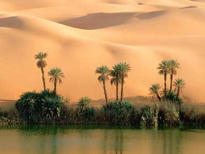 Ouem El Ma Lake Libya