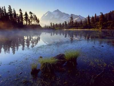 Picture Lake Mount Shuksan Washington