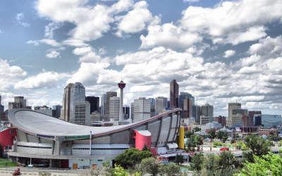 Saddledome in Calgary