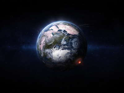 Earth Planet from Space