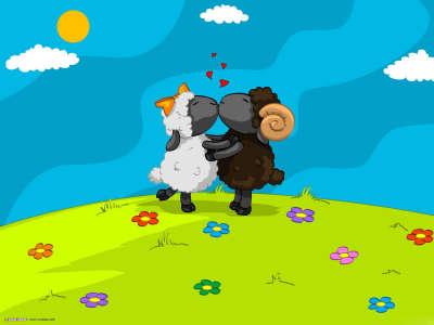 Valentine Animal Love