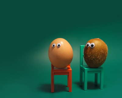 Egg on Chair