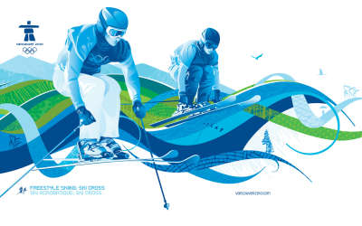 Freestyle Skiing Ski Cross