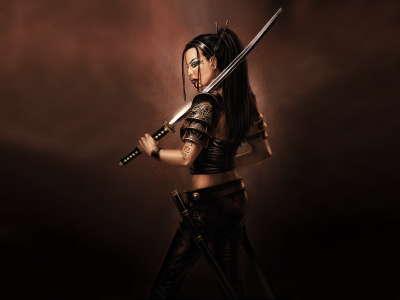 Samurai Woman